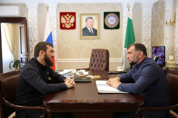 Магомед Даудов встретился с министром сельского хозяйства ЧР