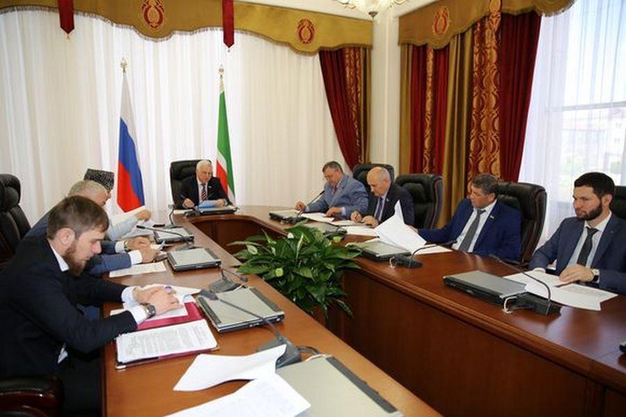 В Грозном прошло заседание по вопросам агропромышленного комплекса