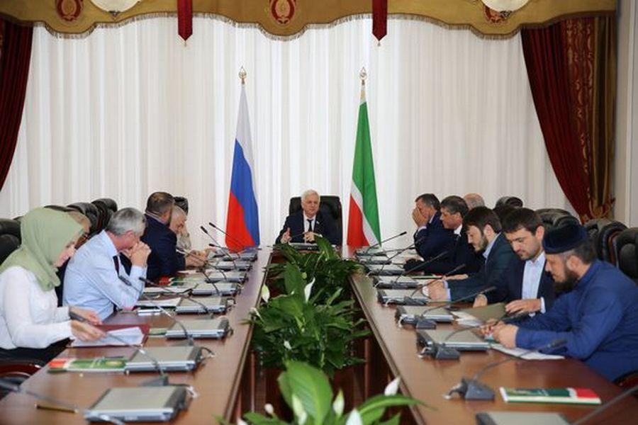В Грозном заслушан доклад о деятельности Министерства сельского хозяйства ЧР
