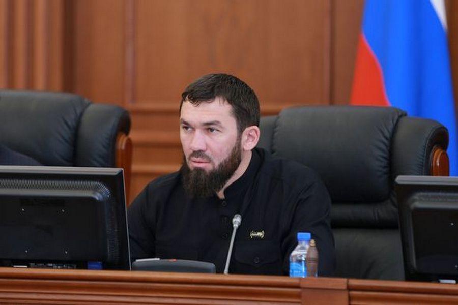 Магомед Даудов провёл 27-е заседание Парламента
