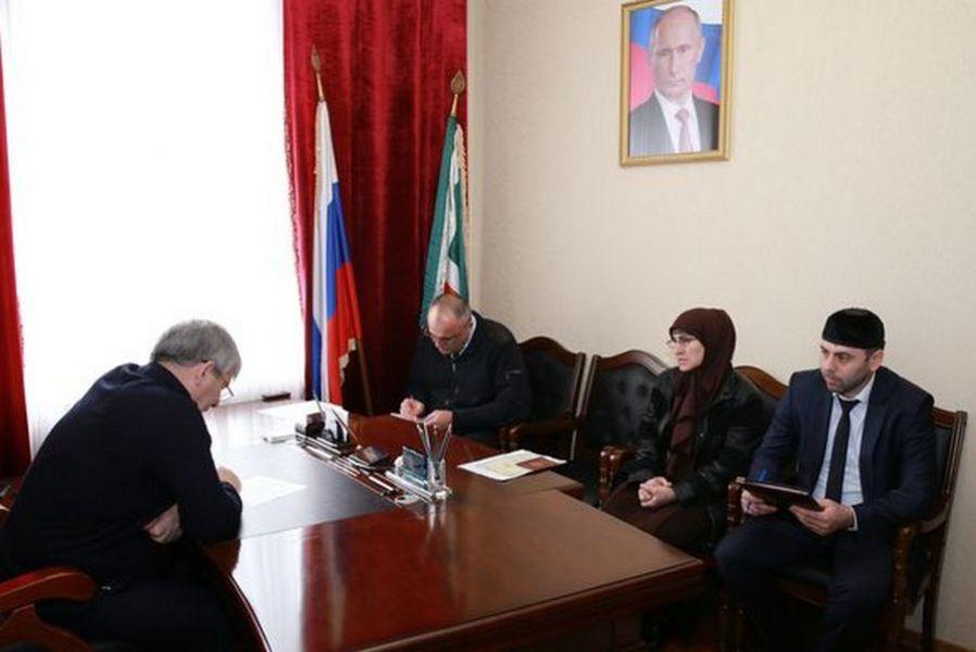 Вице-спикер Парламента ЧР провел прием граждан