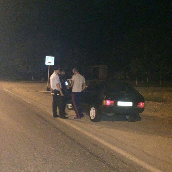 В Шелковском районе задержан водитель в нетрезвом состоянии