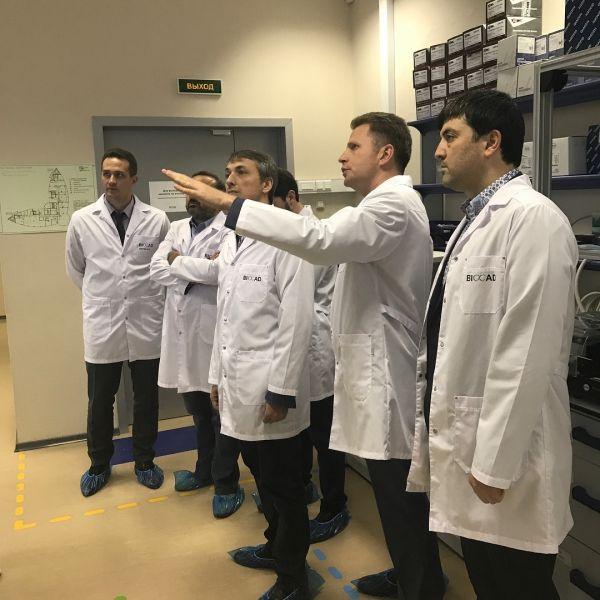 Министр здравоохранения Чечни встретился с Гендиректором биотехнологической компании