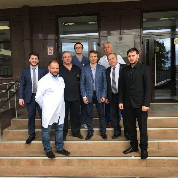 Глава Минздрава Чечни посетил ГПМУ в Санкт-Петербурге