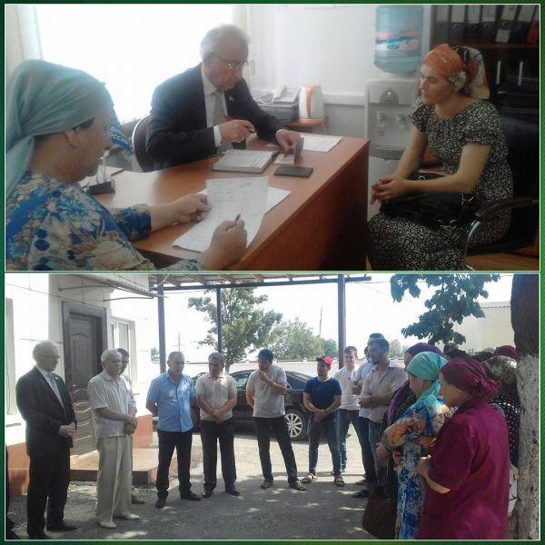 Депутат Парламента Чечни провел ряд мероприятий в городе Аргун