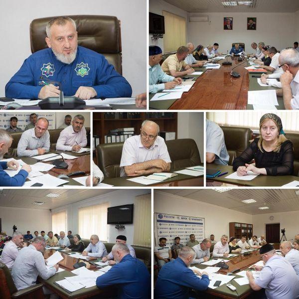В Грозном обсудили состояние энергообъектов республики