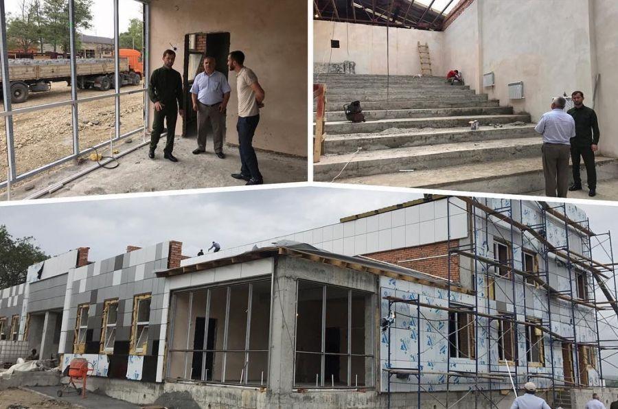 Министр культуры ЧР проинспектировал строительство Дома культуры в Ойсхара