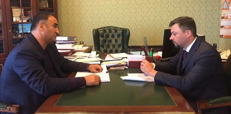 Мохмад Ахмадов встретился с замминистра труда и соцзащиты РФ