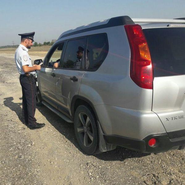 """На федеральной автодороге """"Кавказ"""" проходят мероприятия по пресечению нарушений ПДД"""