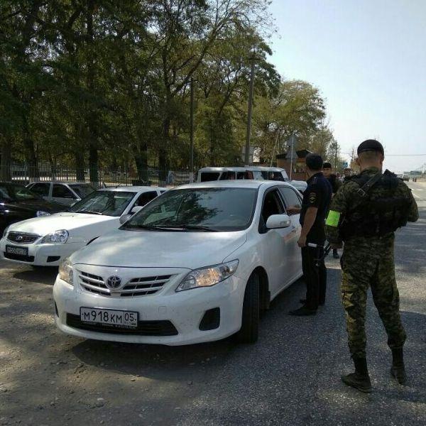На дорогах Шелковского района Чечни за сутки выявлено 19 правонарушений