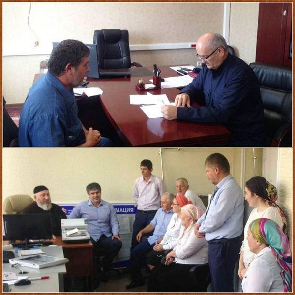 Депутаты Чечни провели ряд важных встреч с жителями региона