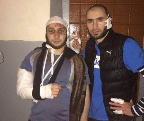 В соцсетях опубликовали фото защитников тюремной мечети