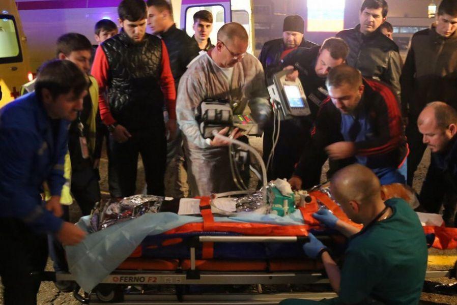Пятерых тяжелобольных детей доставил спецборт МЧС вНижний Новгород изЧечни