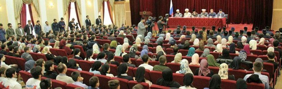 Сирийская делегация пообщалась с чеченской молодежью