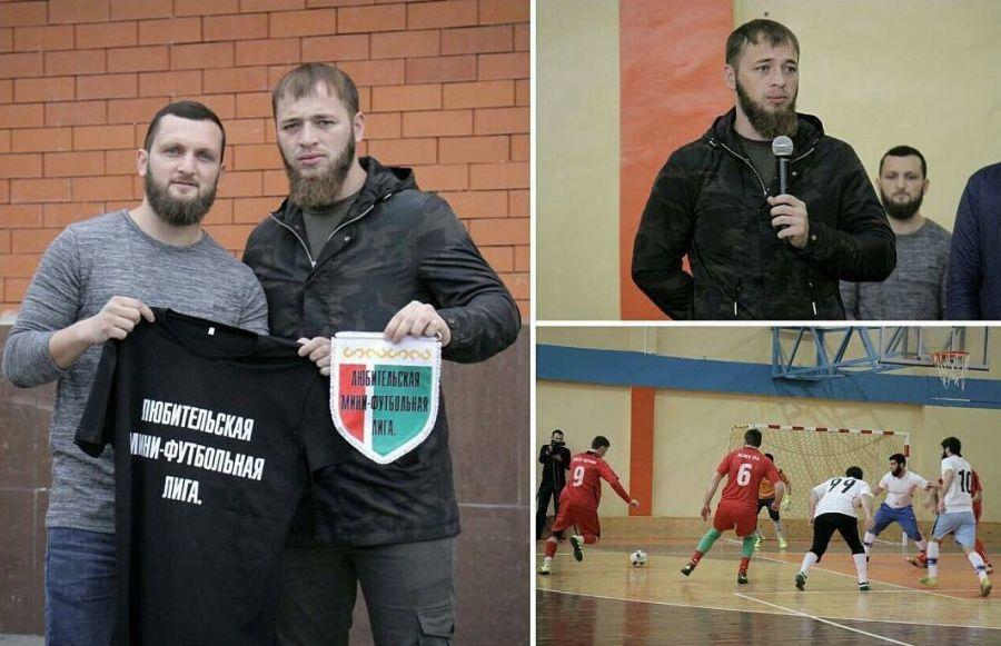 Республиканский турнир «Любительская мини-футбольная лига» стартовал в Грозном