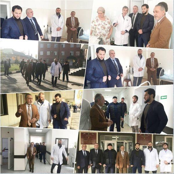 Депутаты посетили 5-ю городскую больницу Грозного