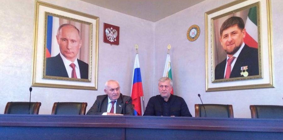 Ш. Жамалдаев провел встречу в администрации Грозненского района