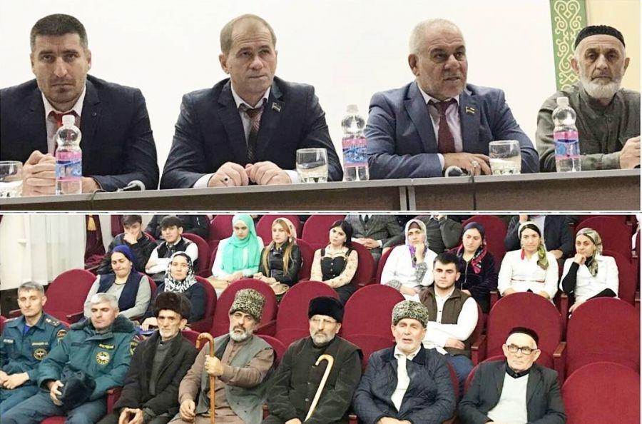 Депутаты встретились с жителями п. Ойсхара