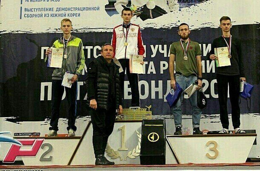 Чеченский тхэквондист завоевал медаль чемпионата России-2017