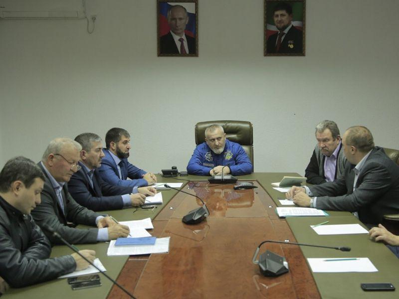 """В """"Чеченэнерго"""" обсудили вопросы строительства Грозненской ТЭС"""