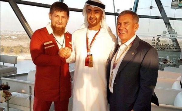 Р. Кадыров посетил заключительный этап «Формуды-1» в Абу-Даби