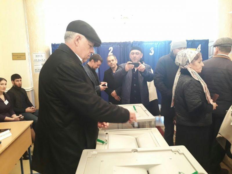 В Наурском районе проходит голосование на выборах Президента России