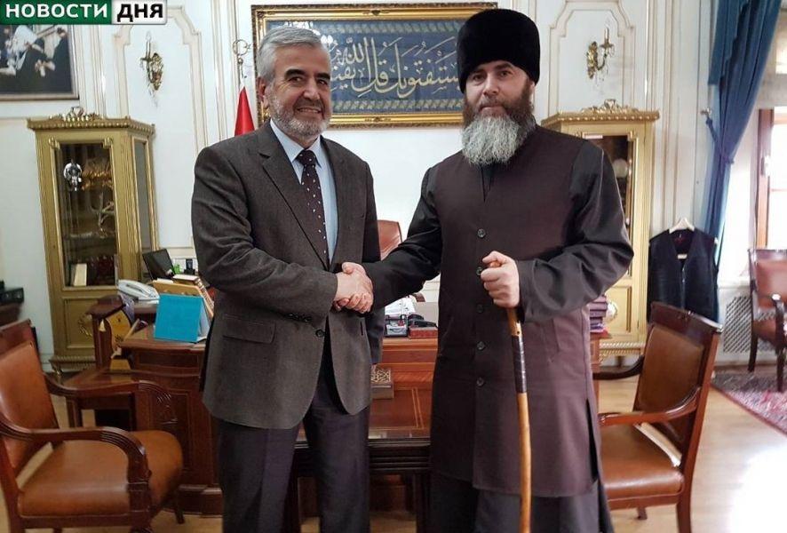 Салах Межиев встретился с муфтием Стамбула