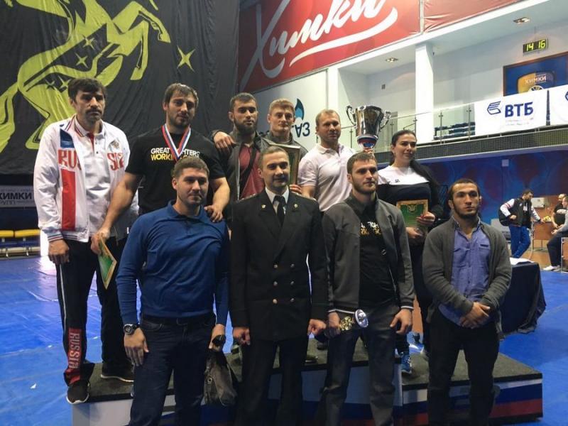 Сборная СКФО заняла первое общекомандное место в Чемпионате ФССП  России по комплексному единоборству