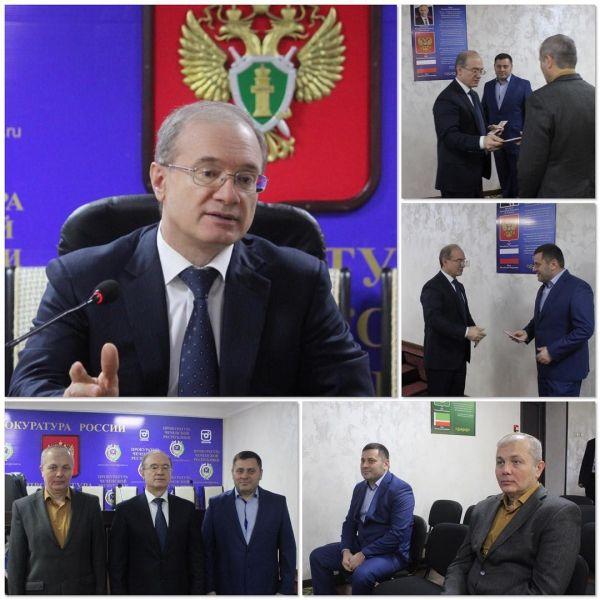 Прокурор Чечни встретился с индивидуальными предпринимателями республики
