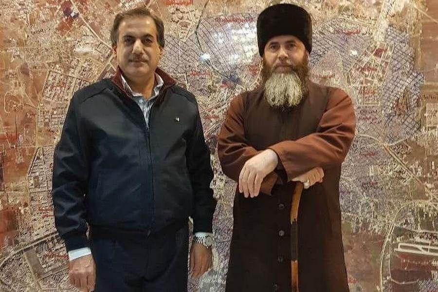 Муфтий Чечни встретился с губернатором Алеппо в Сирии