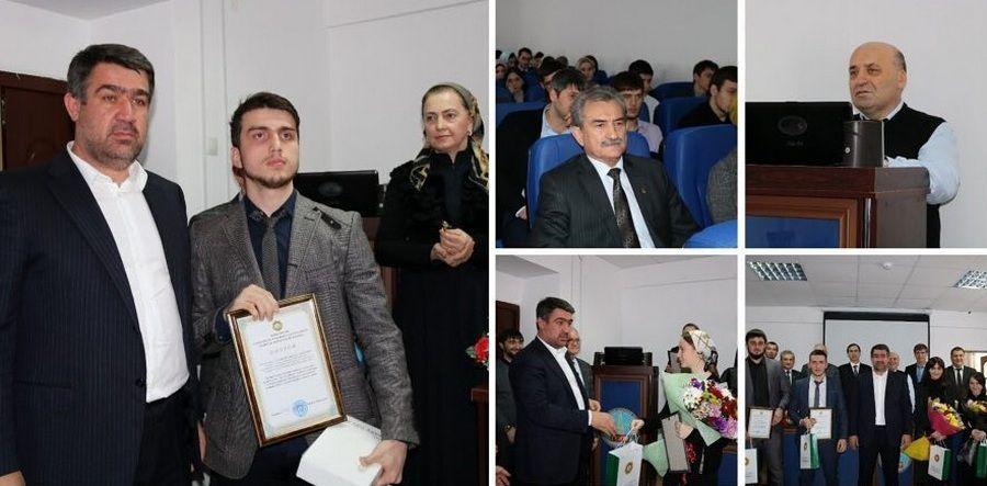Министр строительства ЧР наградил победителей конкурса на лучший дизайн-проект общественной территории