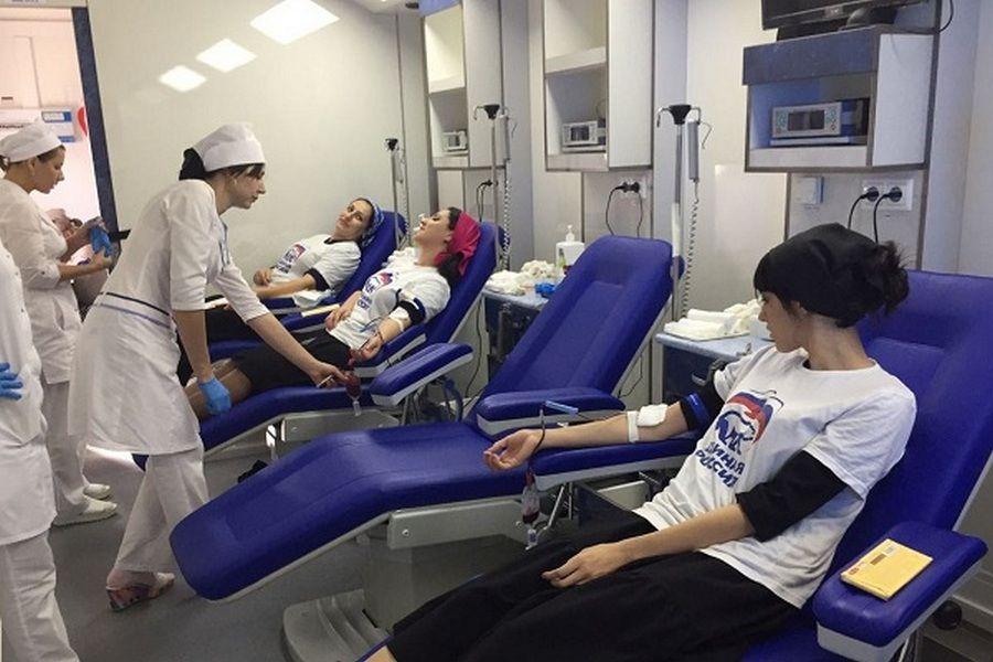 В Науре прошла благотворительная акция по сдаче донорской крови