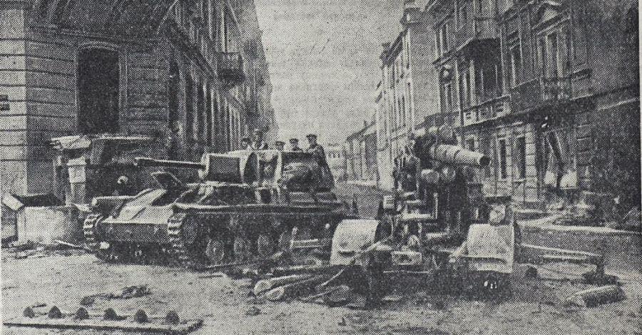13 июля 1944 года советские войска освободили город Вильнюс
