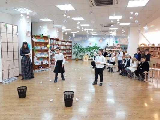 В Грозном состоялся читательский карнавал «Зимушка-зима»