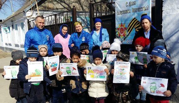 Воспитанники Шелковского детского сада приняли участие в конкурсе рисунков