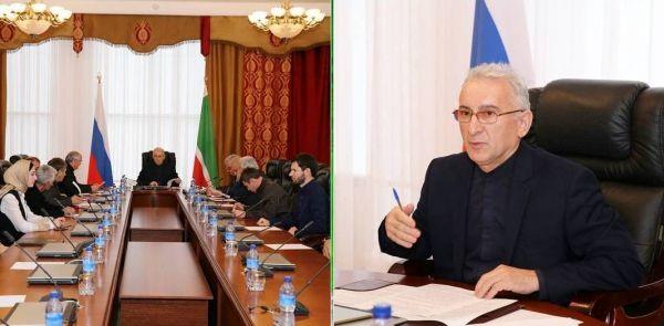 В Парламенте ЧР обсудили проекты федеральных законов