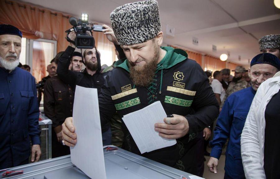Кадыров проголосовал на выборах лидера России — За приличное будущее
