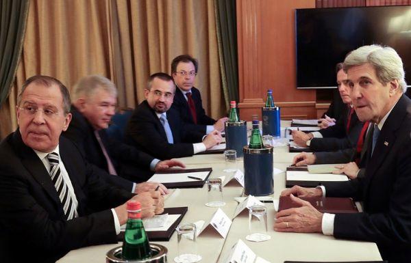Лавров и Керри обсудили урегулирование в Сирии на конференции в Риме