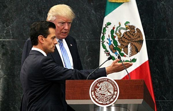 МИД Мексики опроверг данные об угрозах Трампа президенту Ньето