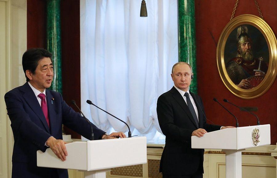 Путин и Абэ подтвердили готовность работать вместе и решать самые сложные вопросы