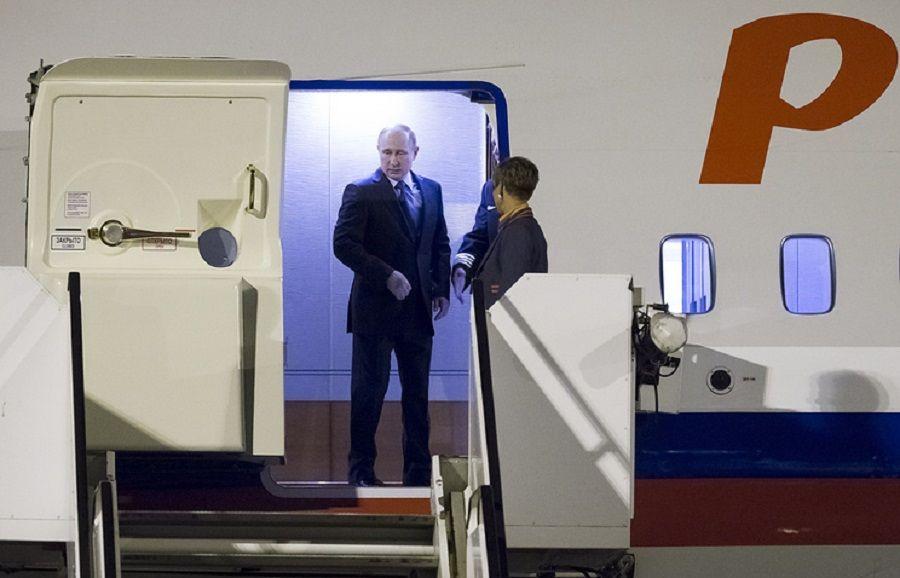 Владимир Путин прибыл в Гамбург на саммит G20