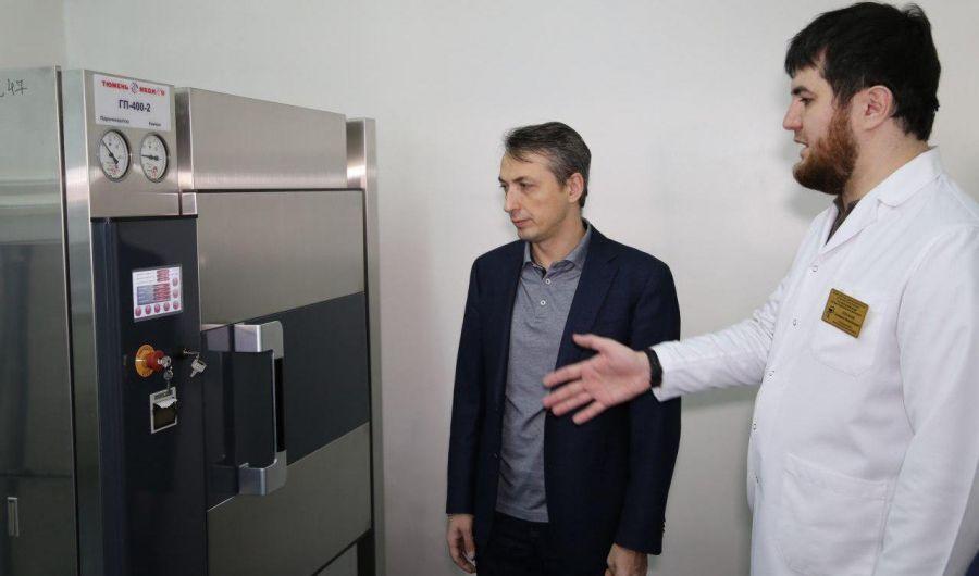 Тульские медики высоко оценили оснащение Республиканского тубдиспансера в Грозном