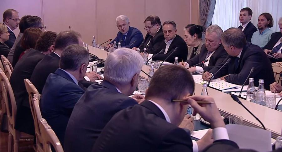М. Хучиев принял участие в заседании совета по развитию городских территорий и общественных пространств
