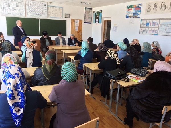 В Махкетинской школе обсудили вопросы улучшения качества образования
