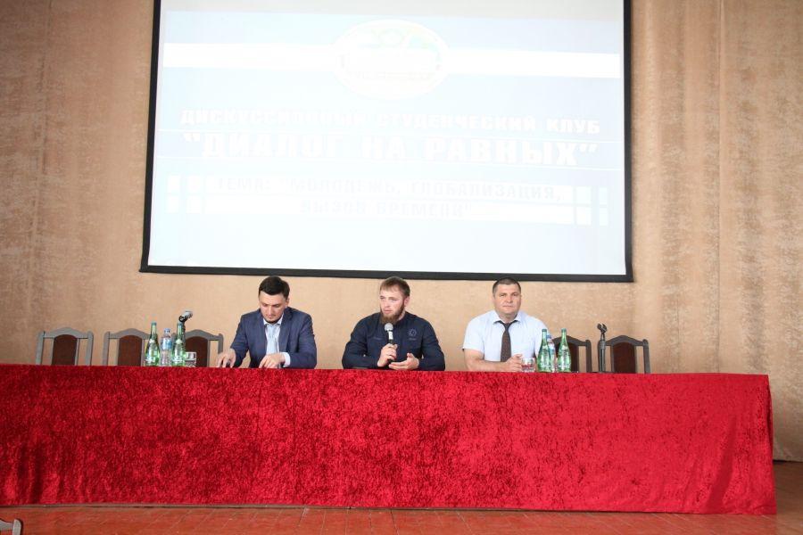 Министр Чечни по делам молодежи провел «Диалог на равных» со студентами ГГНТУ