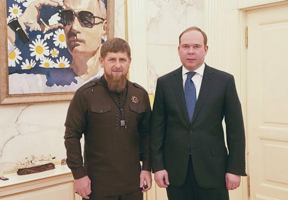 Рамзан Кадыров поздравил Антона Вайно с днем рождения