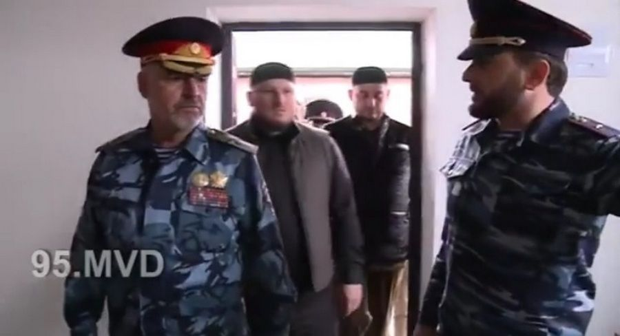 В с. Рошни-Чу открылось новое здание отдела МВД РФ по Урус-Мартановскому району