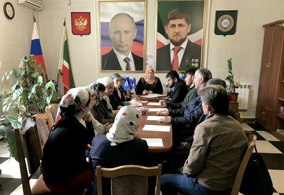 Единороссы Веденского района обсудили духовно-нравственное воспитание молодежи