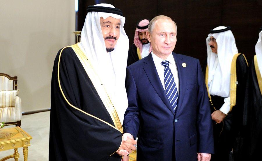 Саудиты с визитом в Россию