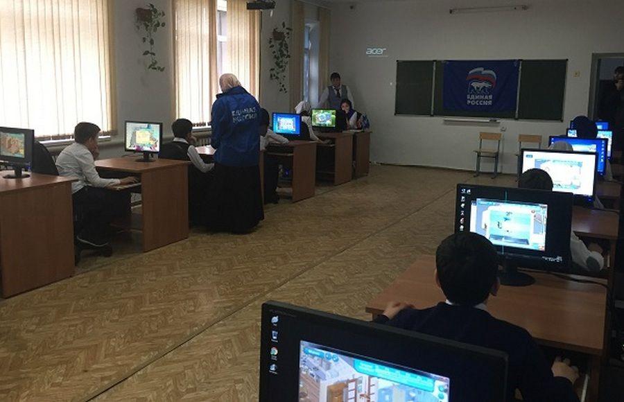 Чеченская десятиклассница стала победительницей чемпионата игры «ЖЭКА» в Наурском районе